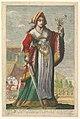 French Judith, an illustration from Pierre Le Moyne's 'La Gallerie des femmes fortes' MET DP829044.jpg