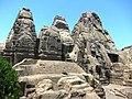 Front view of Masrur Temple in Himachal Pradesh.JPG