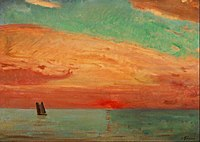 Fujishima Takeji - Sunrise over the Eastern Sea - Google Art Project.jpg