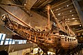 Fully intact 17th century ship that has ever been salvaged, the 64-gun warship Vasa (24561896840).jpg
