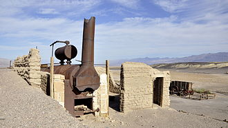 Harmony Borax Works - Image: Furnace Creek Harmony Borax Works 8 10 2012 9 07 04