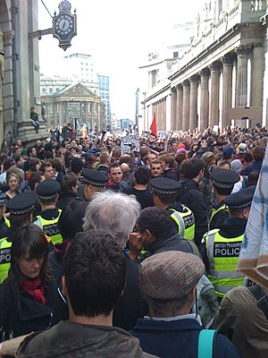 2009 G20 London summit protests - G20 Meltdown – 1 April 12:30 pm