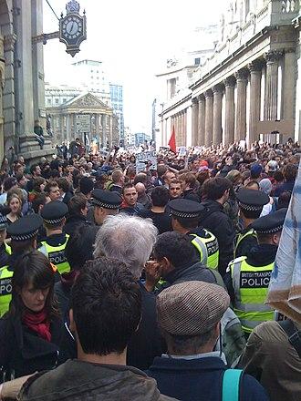 2009 G20 London summit protests - G20 Meltdown – 1 April 12:30 pm