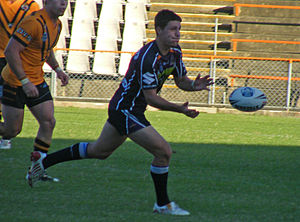 Gareth Widdop - Widdop playing for the Storm in the 2010 NSW Cup
