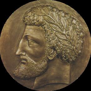227abf543 الملك الأمازيغي ماسينيسا، مؤسس مملكة نوميديا (حوالي 201 قبل الميلاد).