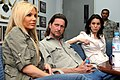 Gabrielle Tuite, Don McManus and Christy Carlson Romano at Camp As Sayliyah, Qatar.jpg