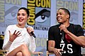 Gal Gadot & Ray Fisher (35813624920).jpg