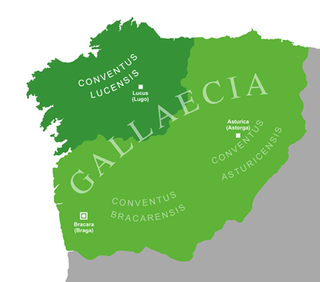Conventus lucensis Administrative region within the Roman province of Gallaecia