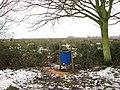 Game bird feeder on the edge of Hardley Marshes - geograph.org.uk - 1658509.jpg