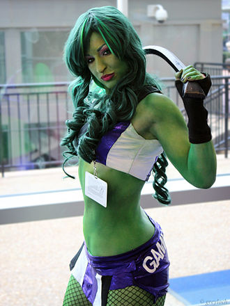 Fandom - Cosplayer. She-Hulk, 2012