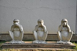 Gandhiji's Three Monkeys.JPG