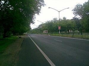 Gandhinagar - Image: Gandhinagar Road