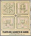 Gando Pesthouse (lazareto) Old Map of 1896 Gran Canaria.jpg