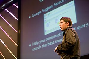 Garrett Camp - Camp at the 2008 The Next Web Conference in Amsterdam
