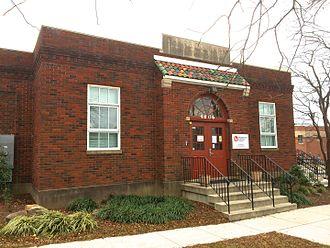 Garrett Park, Maryland - Image: Garrett Park School