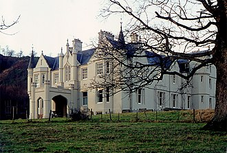 Sir Archibald Campbell, 1st Baronet - Garth House, Fortingall. The home of Sir Archibald and Lady Helen (MacDonald) Campbell