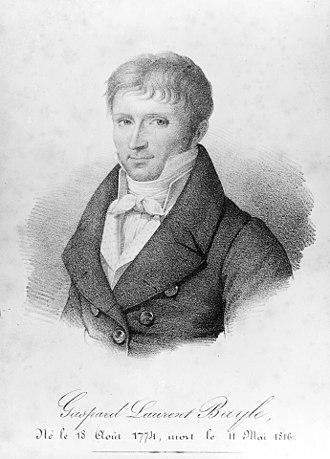 Gaspard Laurent Bayle - Gaspard Laurent Bayle