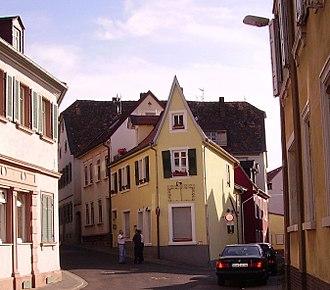Bad Dürkheim - Image: Gasse Bad Duerkheim