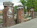 Gdańsk Wrzeszcz dawne koszary (brama od Słowackiego).JPG