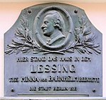 Gedenktafel in Berlin-Mitte, Nikolaikirchplatz 7 (Quelle: Wikimedia)
