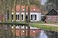 Geldersch Landschap house Boslust mirrored in a pond Warnsborn - panoramio.jpg