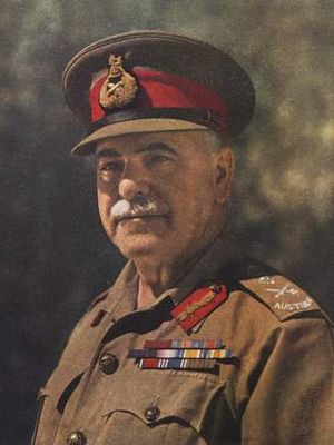 Thomas Blamey - General Sir Thomas Blamey in 1942