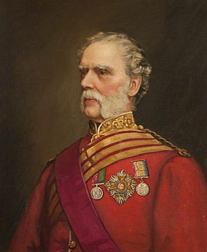 103rd Regiment of Foot (Royal Bombay Fusiliers) - General Sir William Wyllie, colonel of the regiment in the 1870s
