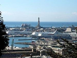 Genova-Castello d'Albertis-panorama