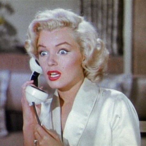 Мэрилин Монро в фильме «Джентльмены предпочитают блондинок» (1953)
