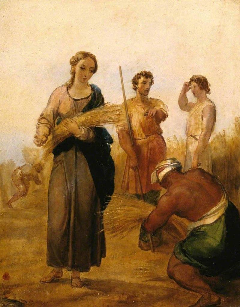 George Frederic Watts (1817-1904) - Ruth and Boaz - N04555 - National Gallery.jpg