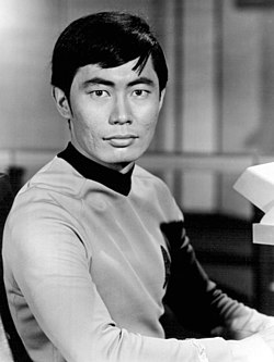 George Takei as Lieutenant Hikaru Sulu, from