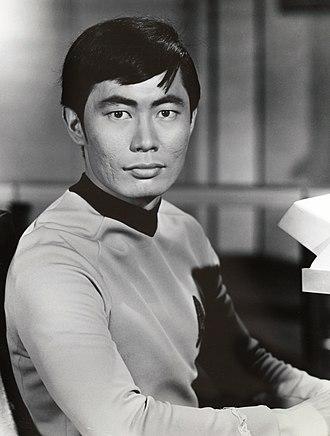 George Takei - Takei as Lieutenant Hikaru Sulu