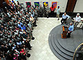 George W. Bush speaks at US embassy in Port-au-Prince 2010-03-22.jpg