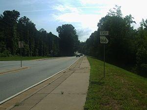 Georgia State Route 166 - SR 166 in Douglas County
