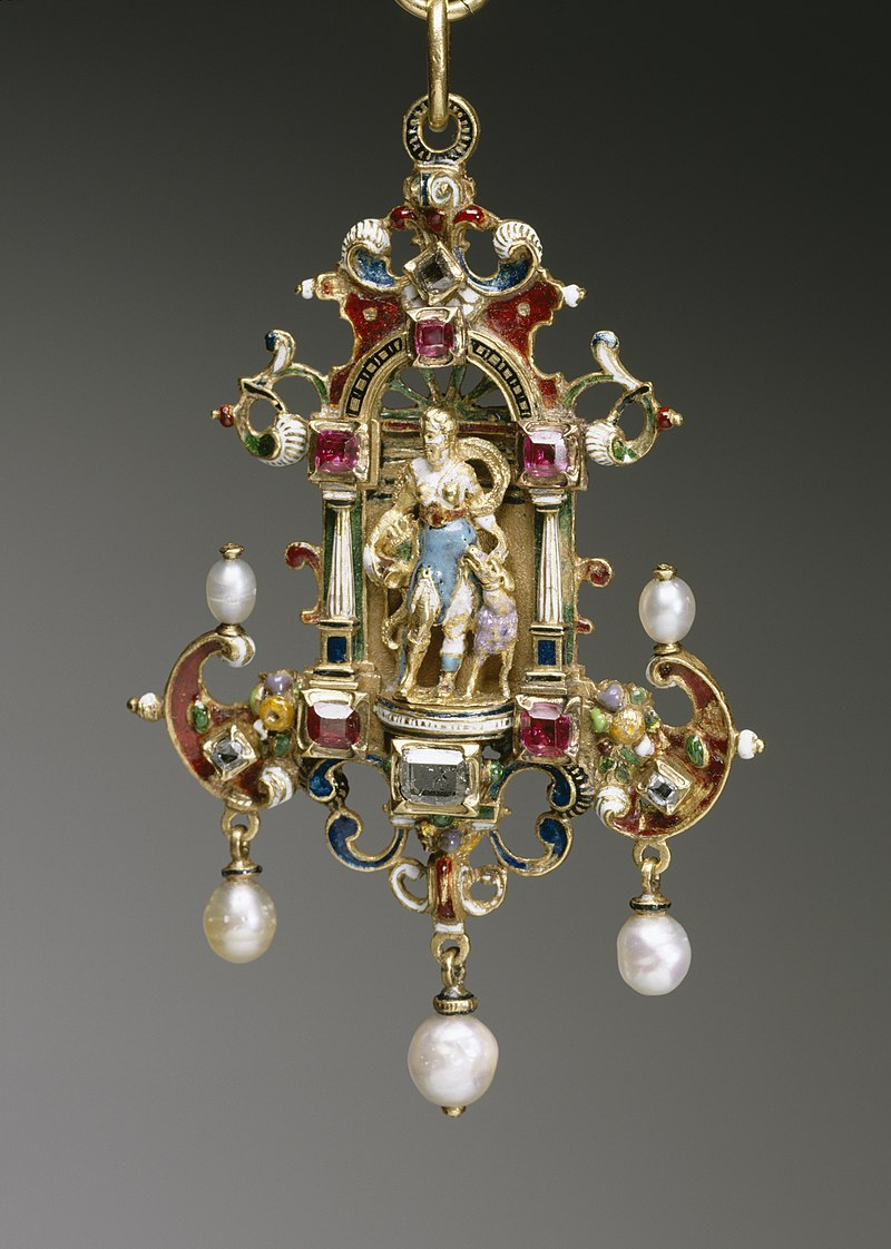 German - Pendant with the Goddess Diana - Walters 44442.jpg