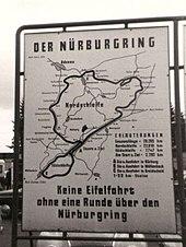 Nürburgring Wikipedia - Germany map nurburgring