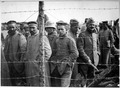 German prisoners in a French prison camp. French Pictorial Service., 1917 - 1919 - NARA - 533724.tif