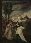 Germany, Danube School, 16th century - The Visitation - 1950.91 - Cleveland Museum of Art.tif