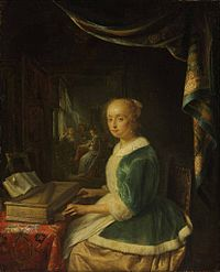 Gerrit Dou - A Young Lady Playing a Clavichord.jpg