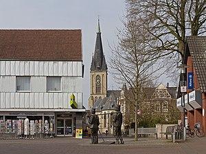 Gescher - Image: Gescher, Brauchtum verbindet met die Katholische Pfarrkirche Sankt Pankratius Dm 1 foto 10 2016 04 02 10.54