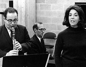 Sherman Friedland - Sherman Friedland in rehearsal