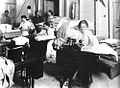 Gibraltar Evacuee Camp, Jamaica - The Sewing Room.jpg