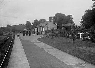 Glasbury-on-Wye railway station