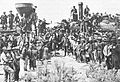 Golden Spike ceremony, Promontory, Utah, May 10, 1869.jpg