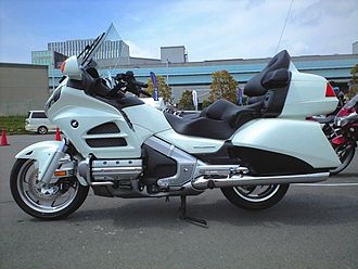 Honda Gold Wing - 2012 Gold Wing GL1800 model for Japanese market, with windshield wiper