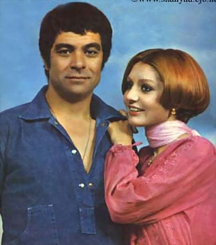 پرونده:Googoosh+Behruz Vosughi on magazine.JPG