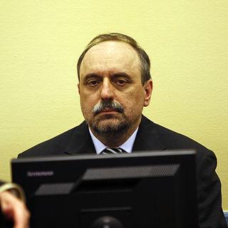 Goran Hadžić Croatian Serb politician