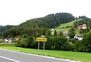 Gornji Dolič Place in Carinthia, Slovenia