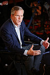 Governor of Florida Jeb Bush, Announcement Tour and Town Hall, Adams Opera House, Derry, New Hampshire by Michael Vadon 19.jpg