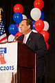Governor of New Jersey Chris Christie at Northeast Republican Leadership Conference June 2015 by Michael Vadon 04.jpg